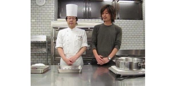 辻製菓技術研究所の先生がお手軽ブラウニーの作り方を伝授