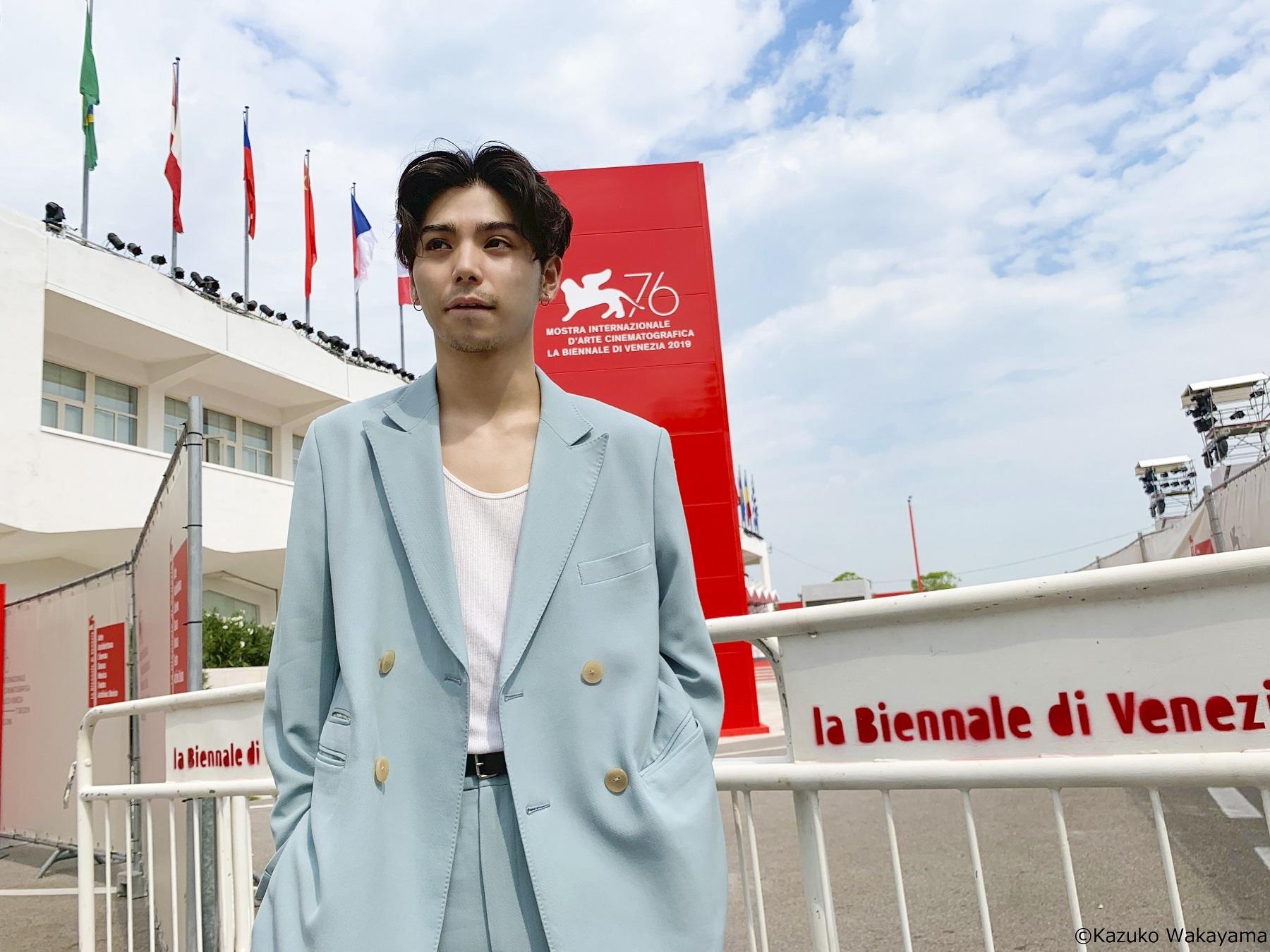 ヴェネチア国際映画祭「ジャパン・フォーカス」に参加した村上虹郎