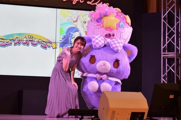 2020年春よりアニメ化が決定したミュークルドリーミーと、主人公・日向ゆめを演じる村上 奈津美