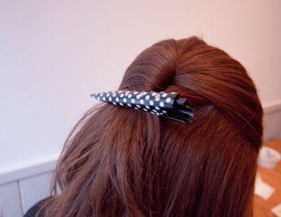 髪留めとしての使用イメージ