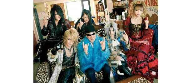 ヴィジュアル系バンド・Versaillesと初共演するテリー伊藤