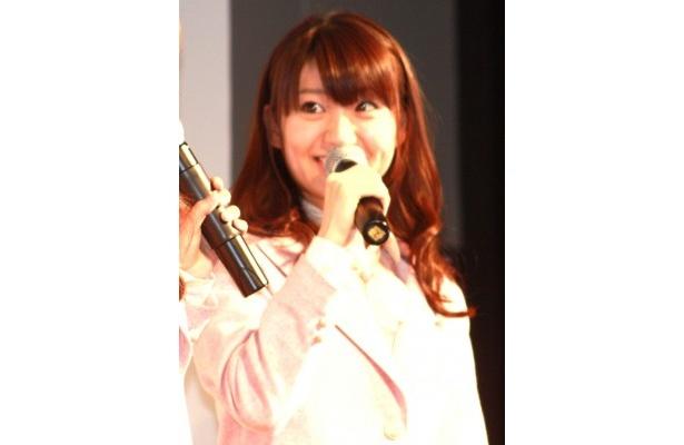 大島優子は「斉藤和義さんと母校が一緒なので話してみたい!」とはしゃいだ