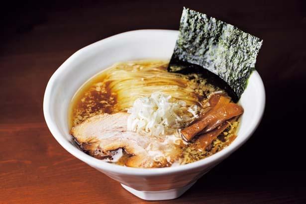「らーめん おおはし」からは、国産最高級の鶏ガラだけで現地でとった清湯スープに特注麺を合わせた一杯が登/ラーメン女子博 in 大阪2019