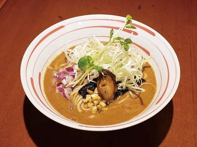 とことん鶏にこだわる「麺酒 一照庵」は、イベント限定で牡蠣と味噌を使った、関西で人気が高いこってり系ラーメンを提供予定/ラーメン女子博 in 大阪2019