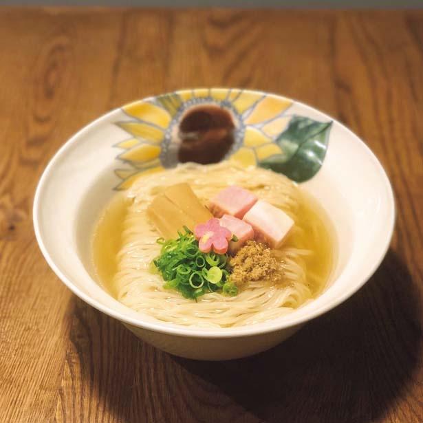 """ノドグロ100%のスープは別名""""飲むのどぐろスープ""""と呼ばれる「Ramen&Bar ABRI Kanazawa」/ラーメン女子博 in 大阪2019"""