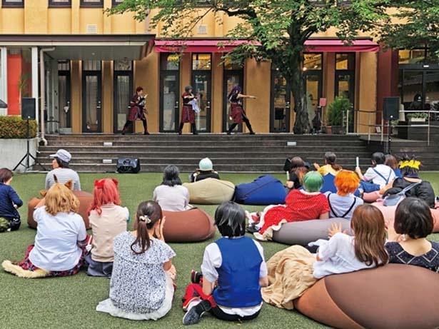 京都国際マンガミュージアムの特設ステージで開催される「コスプレドリーム」/京都国際マンガ・アニメフェア(京まふ) 2019