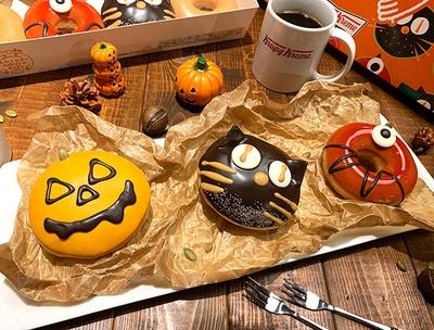 秋のおいしい素材をいかした3種の新作ドーナツが登場