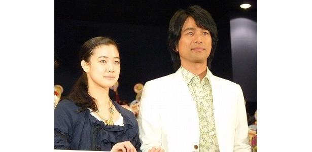 本作でパティシエを演じた江口洋介と蒼井優