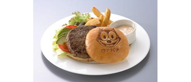 一人じゃ食べきれないハンバーガー
