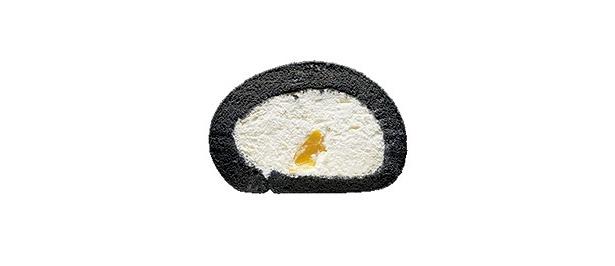 【東京】神戸の老舗『原とうふ』の豆乳を使用した『はらロール』からの一品は、竹炭生地がさっぱり「和栗の竹炭」