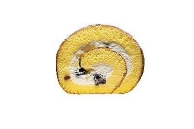 【石川】国産の黒豆と刻んだ栗が入り、ほくほくとした食感が楽しめる「米粉ロール」
