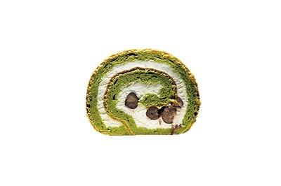 【岡山】米粉パンで有名な『和良』の人気商品。抹茶の味が上品。「米粉ロール抹茶」