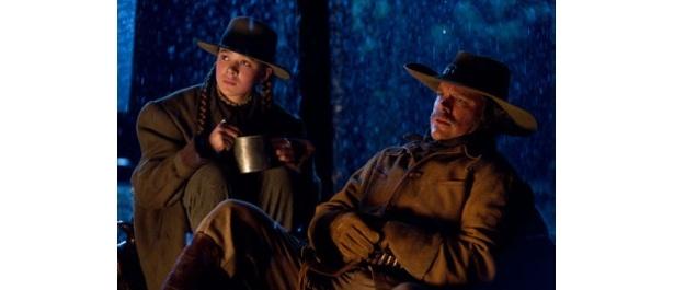 『トゥルー・グリット』では父親を殺された少女の敵討ちを助けるテキサス・レンジャーを演じたデイモン