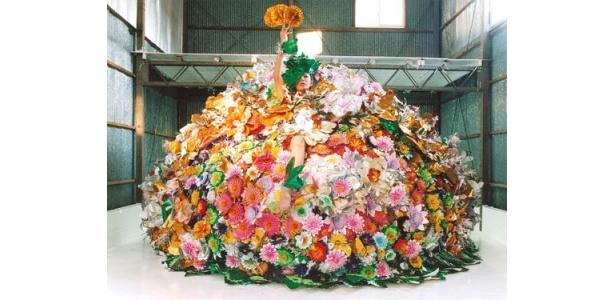 【写真】大量の花に包まれたピュ~ぴる