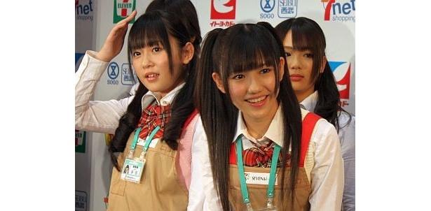 多田愛佳さん、渡辺麻友さん