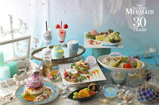 「リトル・マーメイド」OH MY CAFEが期間限定オープン!