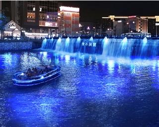 九州初!大人気イルミネーション「青の洞窟」が福岡で開催