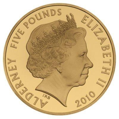 共通表面はイアン・ランクブロードリーによる女王エリザベス2世の肖像、額面、発行年の「2010」が刻印されている