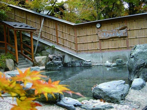 清流&紅葉を味わう自然派温泉