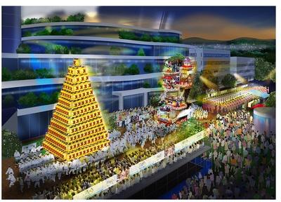 祭り集結のメイン会場イメージ