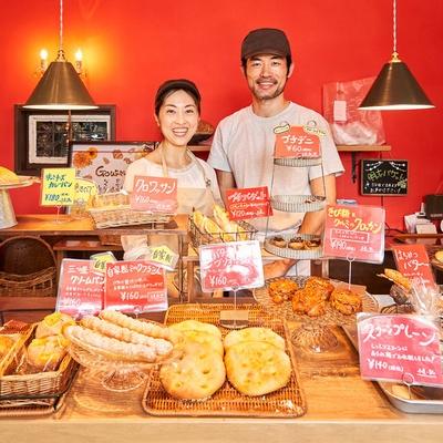 ロブションで主流のライ麦を使ったハード系や、口溶けのいいブリオッシュ生地のものなど、老若男女が楽しめるラインアップ / boulangerieGOURMAND