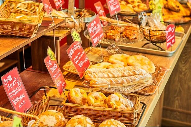 クリームなどのフィリングからソースまで手作り / boulangerie GOURMAND