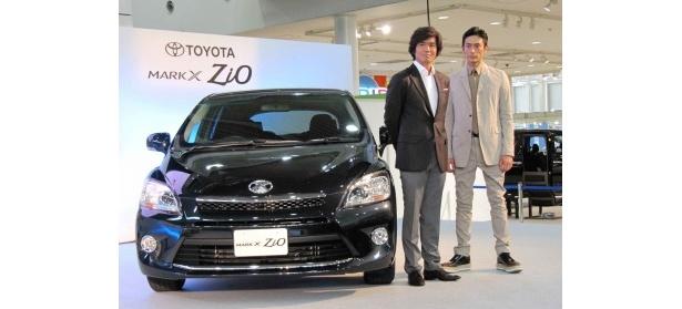 イベントに登場した佐藤浩市と伊勢谷友介(写真左から)