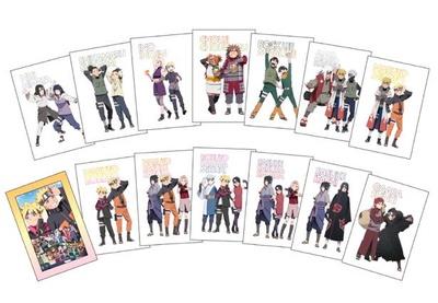 ポストカードセット 14枚組、フレーム付き(1800円)