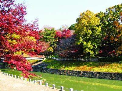 歌人もたたえた紅葉の名所を散策