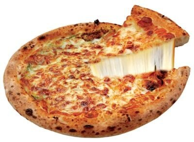 """【写真】""""幻のチーズ""""を使った極上ピザも"""