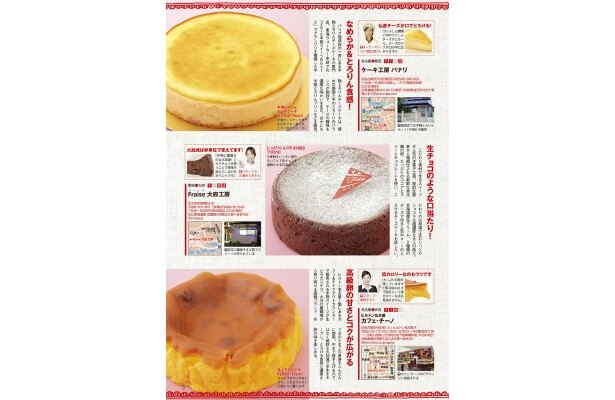 「TokaiWalker Sweets Sellection」誌面より