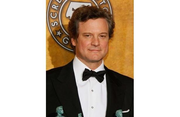 【写真】アカデミー賞でもコリン・ファースの主演男優賞受賞は確実視されている。昨年の雪辱を果たすか?