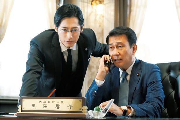 """中井貴一が嫌われ者の""""とんでも総理大臣""""に!"""