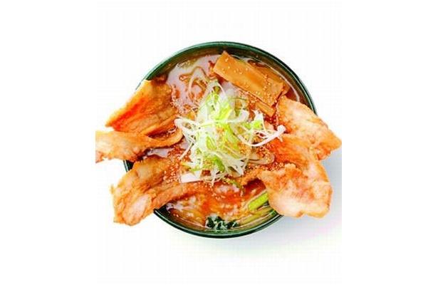 初登場「銀波露」の「ぱいくぅ麺」(951円)