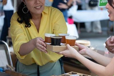 さまざまな種類のビールを飲み比べできる