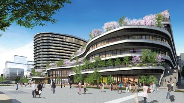 9月14日にオープンする「SAKURA MACHI Kumamoto」※画像はイメージです