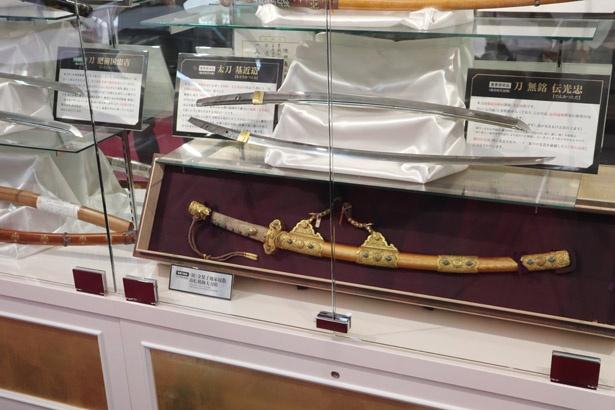 東建コーポレーション所蔵の刀剣の数々
