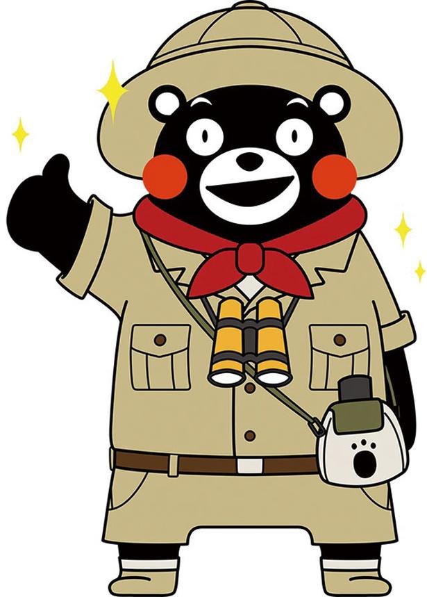 くまモンは火・木・日曜の17:30~18:00でステージに登場 / くまモンビレッジ(SAKURA MACHI Kumamoto)