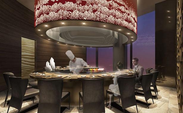 14Fには「鉄板焼レストラン凛庭(りんてい)」を併設する※画像はイメージ / ホテル トラスティ プレミア 熊本 ※画像はイメージです
