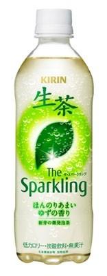 世にも珍しい炭酸の緑茶「キリン 生茶 ザ・スパークリング」(147円/500ml)は、4月19日(火)発売
