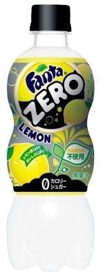 「ファンタ ゼロ レモン」(147円・500ml)日本コカ・コーラ