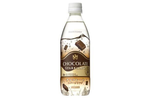 サントリーから発売された「チョコレートスパークリング」