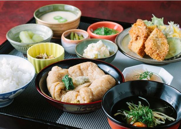 谷のくまちゃん家 / 「ほたる膳セット」(1500円)
