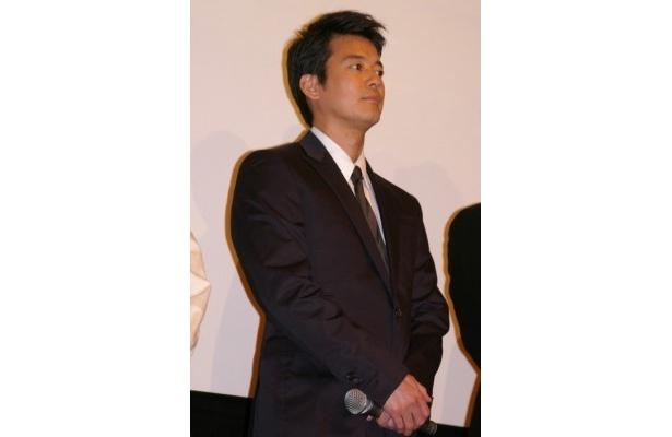 唐沢寿明は、久々に再会した共演者の変化した点を次々と指摘した