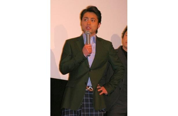 「某ボクシング映画もあるのに、こちらに来ていただいてありがとうございます」と笑いを誘った山田孝之