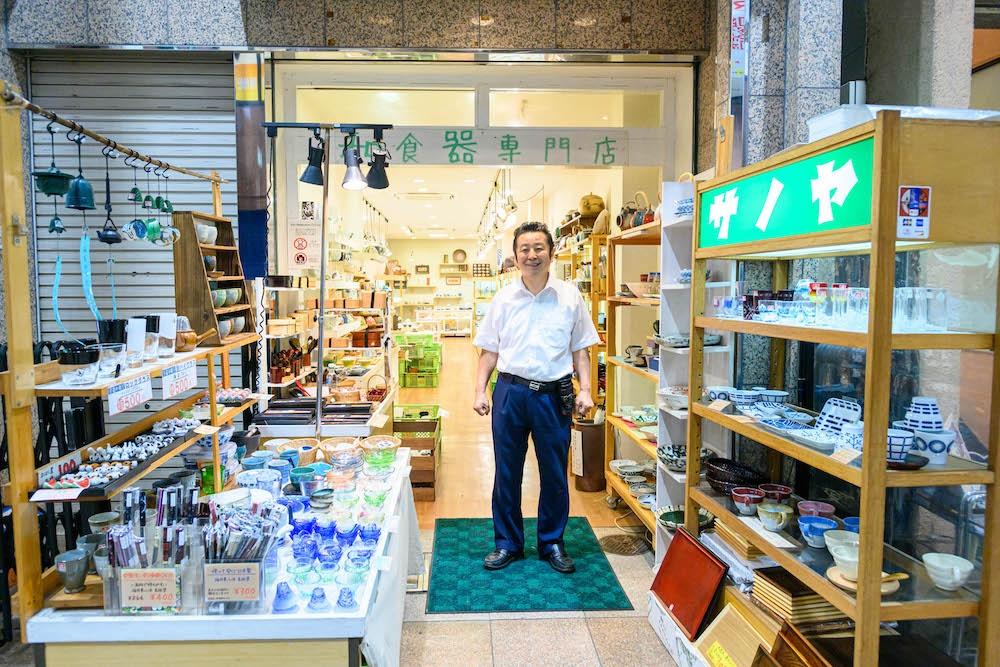 和食器を通して彩り豊かな食生活を提案してくれる「陶舗サノヤ三宮店」