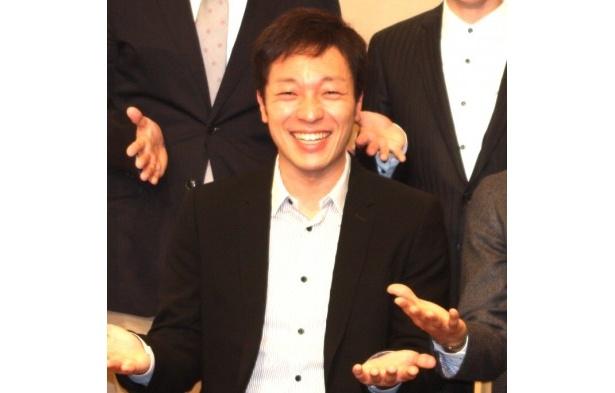 """音尾琢真は「北海道を代表する""""いい人""""です!!」と自己紹介"""