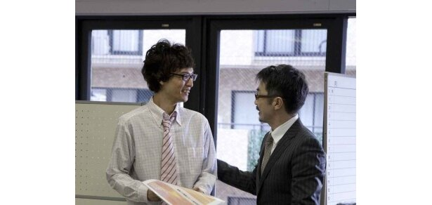 会社内でうだつの上がらない松本(永岡)に起死回生のチャンスが訪れるが…