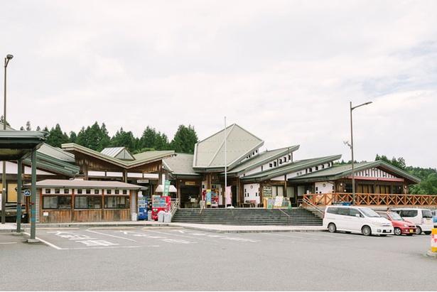 11月には「新米まつり」を予定している / 道の駅 小石原