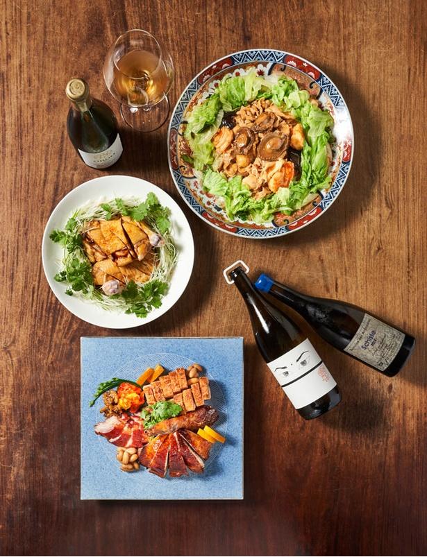 10月1日にリニューアルオープンする「SESSION」では、ワインと中華のペアリングなど、新たな楽しみ方も提案